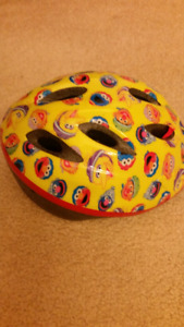 Sesame Street bicycle helmet