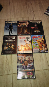 7 never opened DVDs