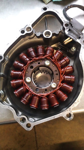 Yamaha R6 Stator and cover