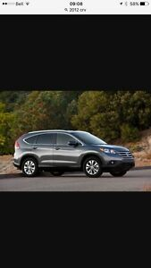 Trade 2012 Honda CRV for Jeep