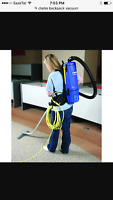 Clarke backpack commercial vacuum $600