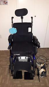 Invacare Power Wheelchair & Roho Cushion