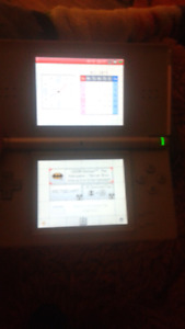 Look to trade Nintendo  ds with 3 games