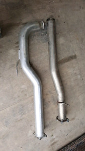 Chevy Duramax Diesel Delete pipes