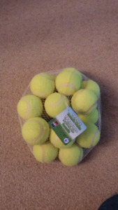 Brand New Pack of 18 Tennis Balls for Sale
