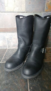 Men's Canada West Engineer Motorcycle Boots Size 10