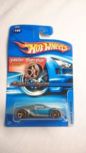 HOT WHEELS BUGATTI VEYRON ULTRAFAST WHEELS DIECAST 1:64 2006