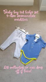 Baby boy 9-12m clothes