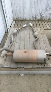 Dodge Ram 1500 OEM Dual Exhaust Muffler and Pipes