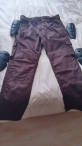 Kevlar Lined Motorcycle Cargo Pants with Pads