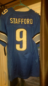 Large Detroit Lions Jersey by Nike