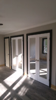 Carpenter, Baseboard, casing, door hanging, crown molding, trim