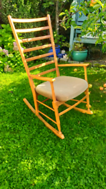 Vintage retro Midcentury style rocking chair excellent condition