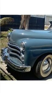 Wanted 1950 dodge car bumpers