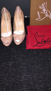 Nude Color Christian Louboutin Red Bottoms