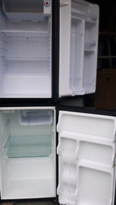 Three large size bar fridge with built-in freezers