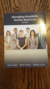 Managing Hospitality Human Resources fifth edition