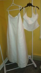 2 PIECE BRIDAL ORIGINALS SIZE 14 ONLY $50 TAGS ON