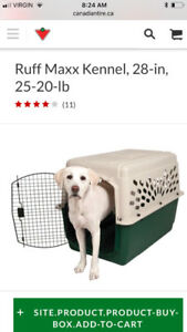 Dog Crate- Used once