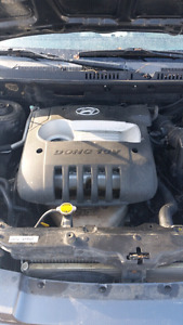 Looking for engine for a 2002 hyundai santa fe