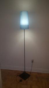 Beautiful Floor  Blue Lamp
