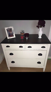 Selling Beautiful Antique White Dresser.