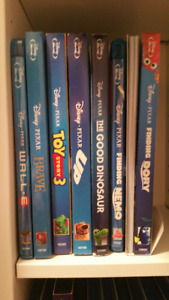 Disney , Pixar , and other Animated Blu-rays