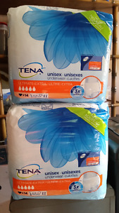 TENA ADULT INCONTINENCE UNDERWEAR (LARGE)