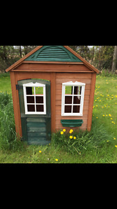 Solid wood  children's playhouse