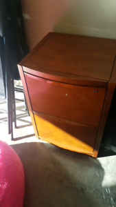 2 drawer legal and letter file cabinet with lock