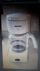 Black and Decker Coffee maker 12 cups.