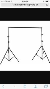Manfrotto background stand