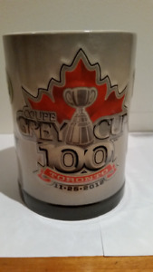 CFL Grey Cup 2009 and 2012 Beer Mugs