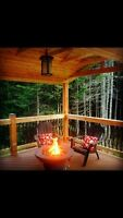 Deck and out door living spaces.