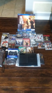 500gb Playstation 3 - PS3 Bundle with 18 Games, 1 Controller...