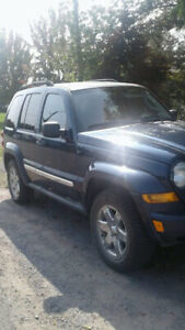 Jeep liberty sport  4 X 4 , 2007, automatique