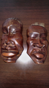 Wood Mask- pair