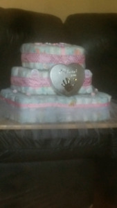 Diaper cakes over 200 diapers