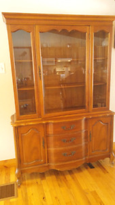 Old China cabinet