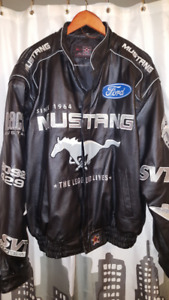 Mustang Leather Jacket Size XL, New never worn