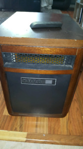 Infrared space heater $120