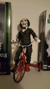 Neca Billy with tricycle and sound horror figure