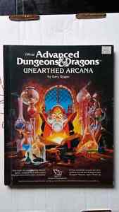 1st Edition AD&D Unearthed Arcana Windsor Region Ontario image 1