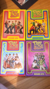 4 seasons of 'That 70's show'