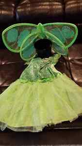 Tinkerbell costume fits 3-4t