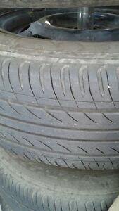 4 Goodride M+S Tires and Rims Strathcona County Edmonton Area image 2