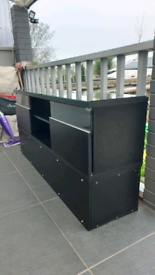Tv Cabinet / tv stand - Entertainment unit, black, Sony, lg