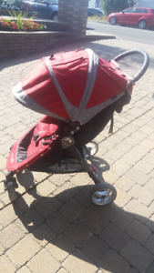 Poussette baby Jogger 4 roues / Baby Jogger 4 Wheels Stroler
