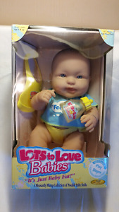 Berenguer 14 inch Lots To Love Baby Doll,NEW In Box, EASTER GIFT
