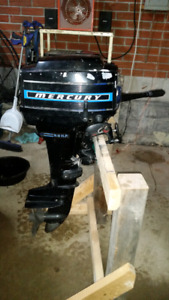 Mercury 9.8hp outboard